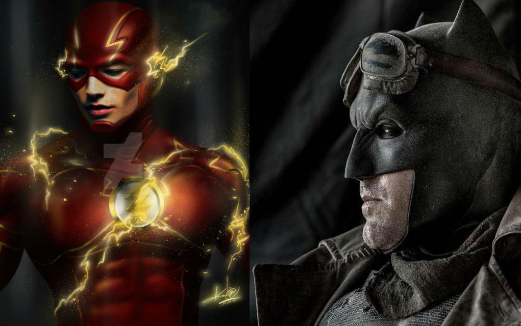Batman vs superman flash